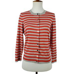Banana Republic Stripe Button Cardigan Sweater